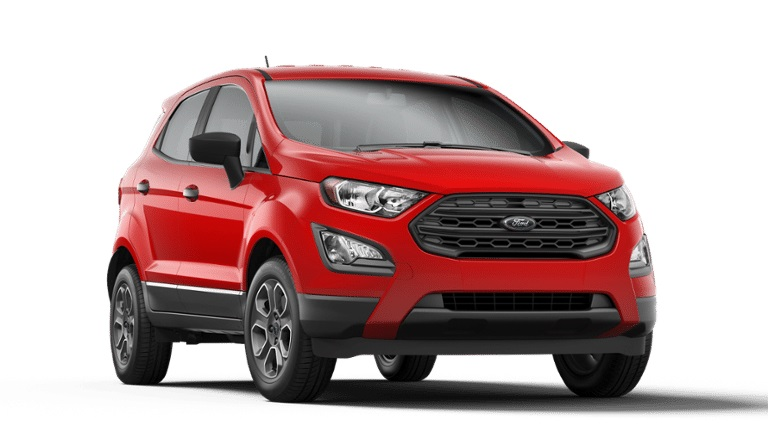 2020 Ford EcoSport in Race Red