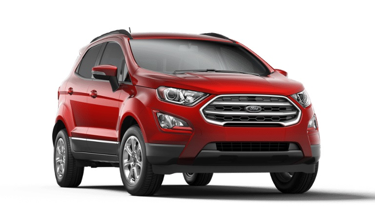 2020 Ford EcoSport in Ruby Red Metallic Tinted Clearcoat