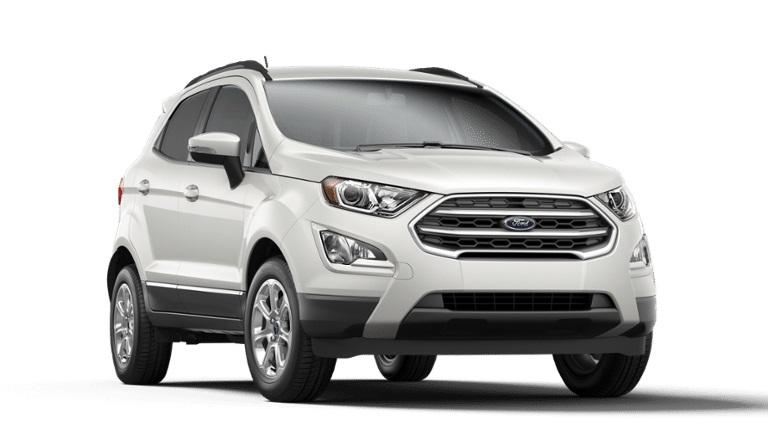 2020 Ford EcoSport in White Platinum Metallic Tri-Coat