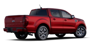 2020 Ford Ranger in Rapid Red
