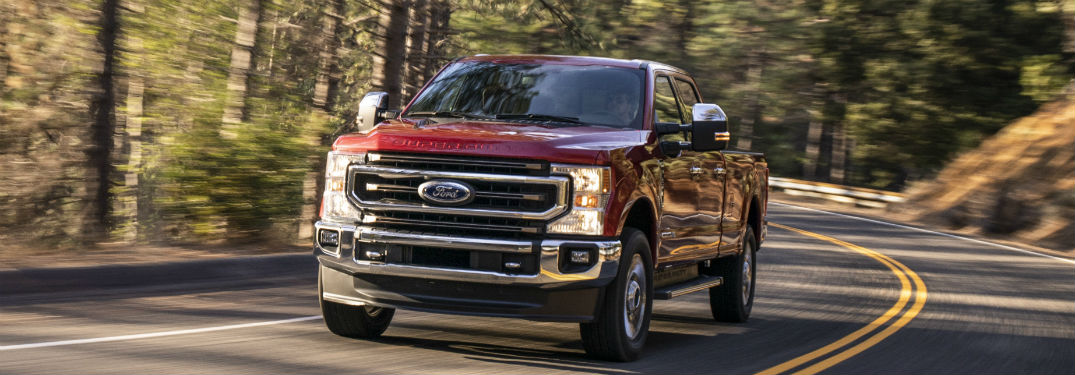 View the 11 Exterior Paint Options of the 2020 F-Series Super Duty Lineup