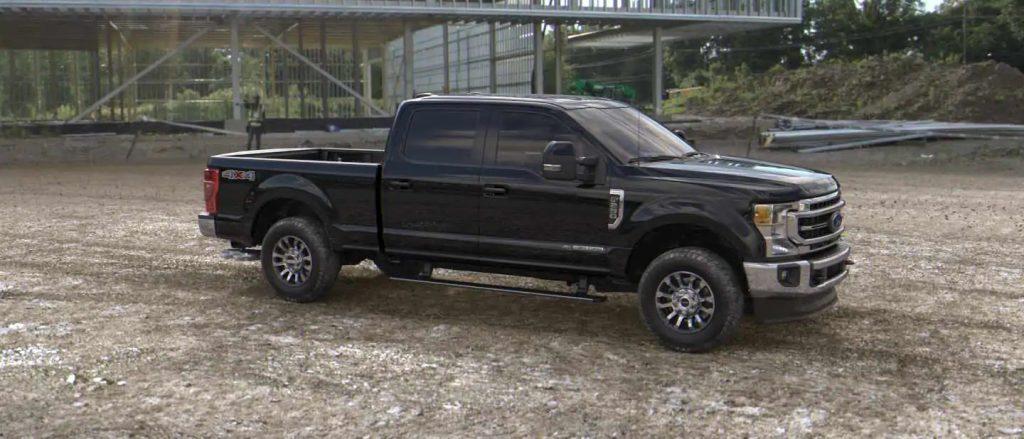 2020 Ford Super Duty in Agate Black
