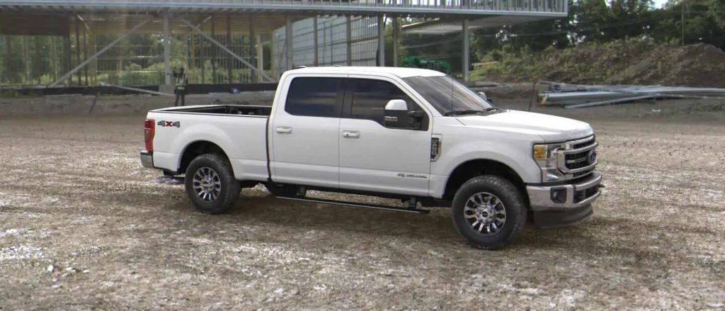 2020 Ford Super Duty in Oxford White