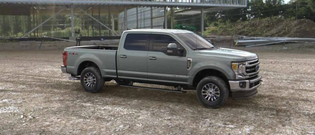 2020 Ford Super Duty in Silver Spruce