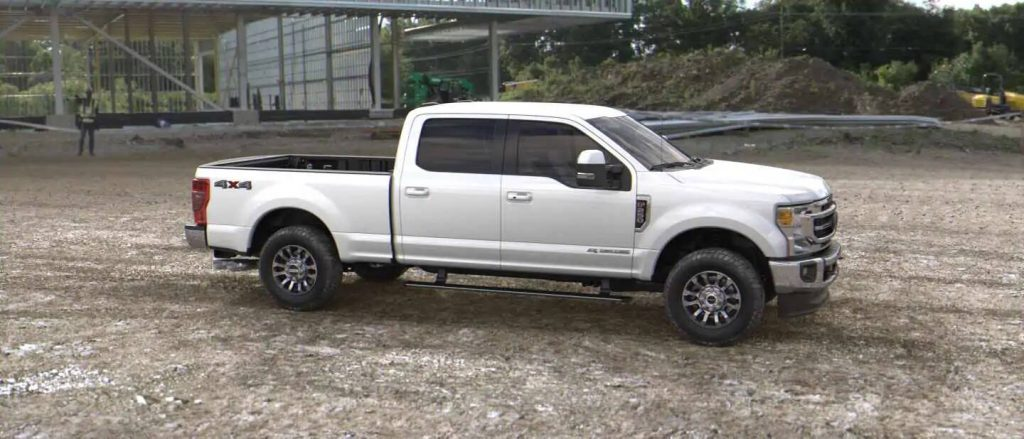 2020 Ford Super Duty in Star White