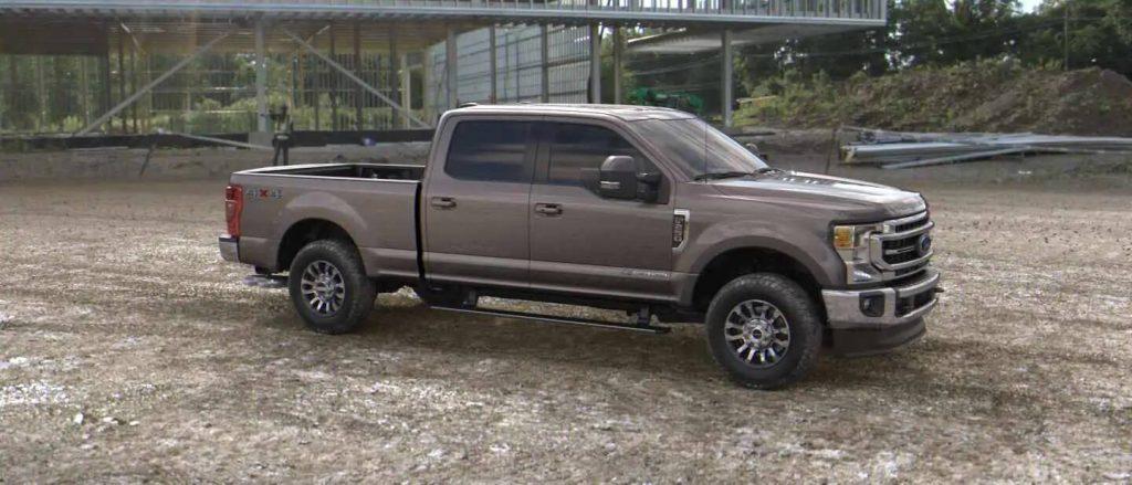 2020 Ford Super Duty in Stone Grey