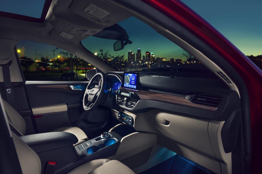 2020 Ford Escape interior front seats