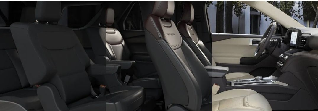 Seating Material & Color Combinations of the All-New 2020 Ford Explorer