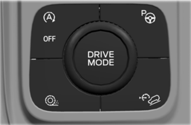 2020 Ford Explorer AWD mode switch