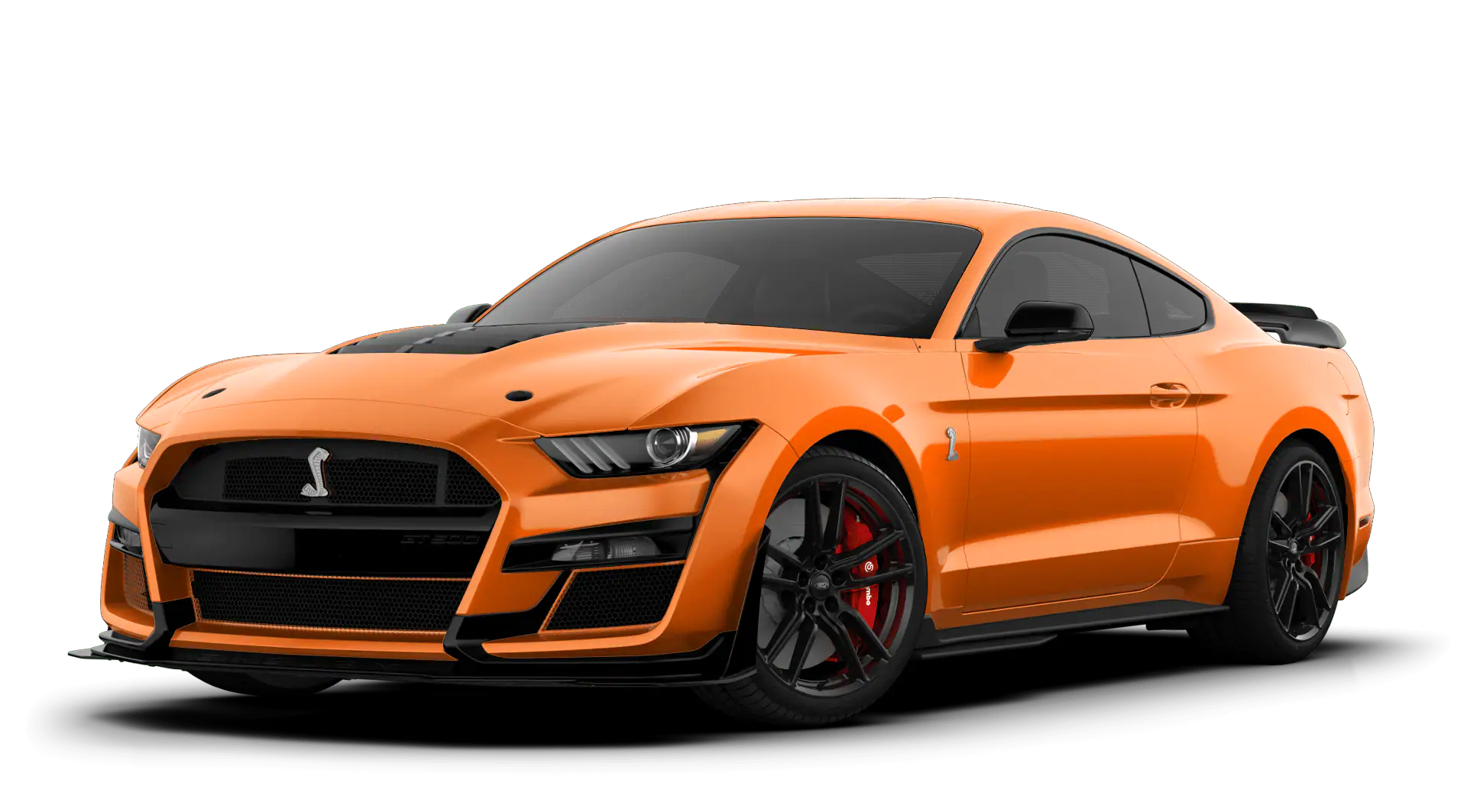 2020 Ford Mustang Shelby GT500 twister orange