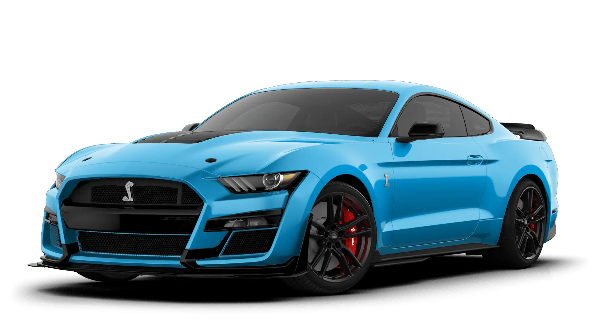 2020 Ford Mustang Shelby GT500 Velocity Blue