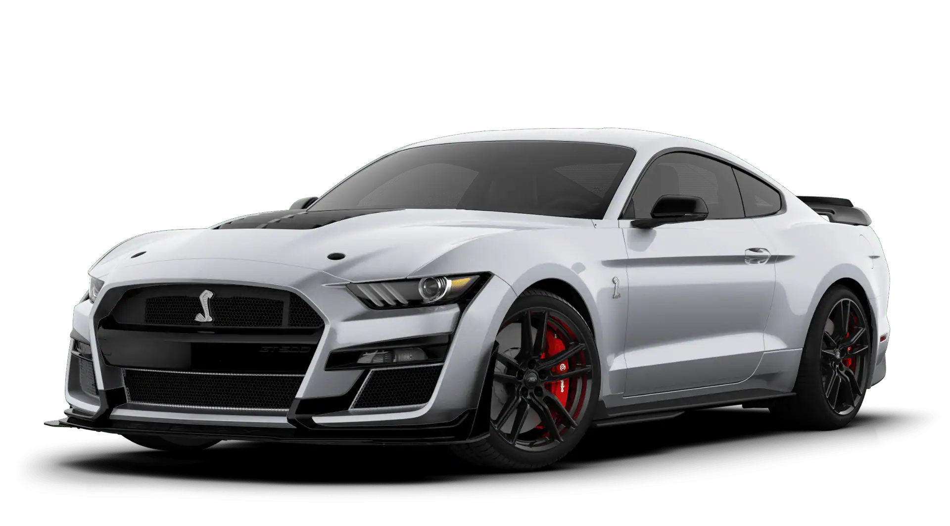 2020 Ford Mustang Shelby GT500 Iconic Silver