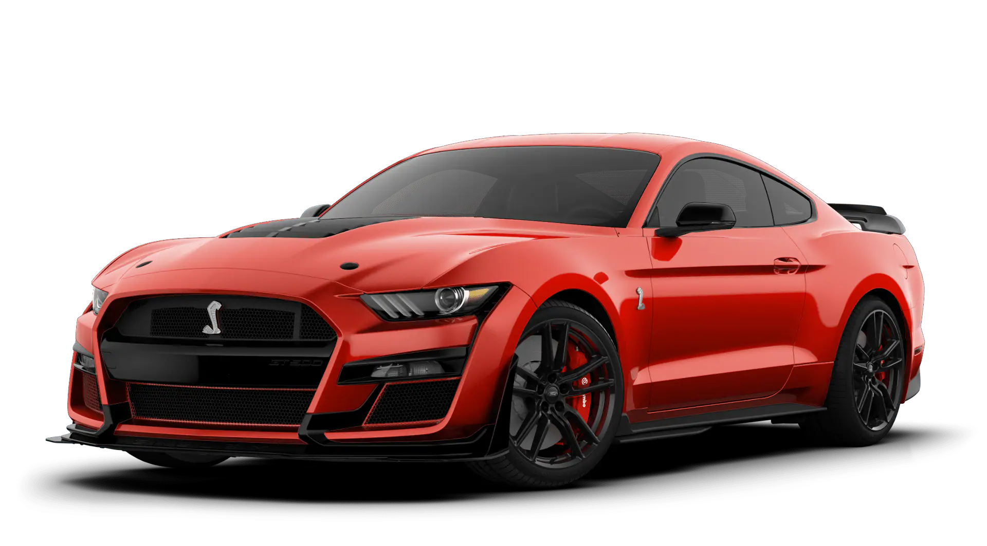 2020 Ford Mustang Shelby GT500 Race Red