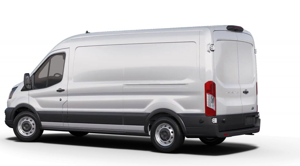 2020 Ford Transit back view
