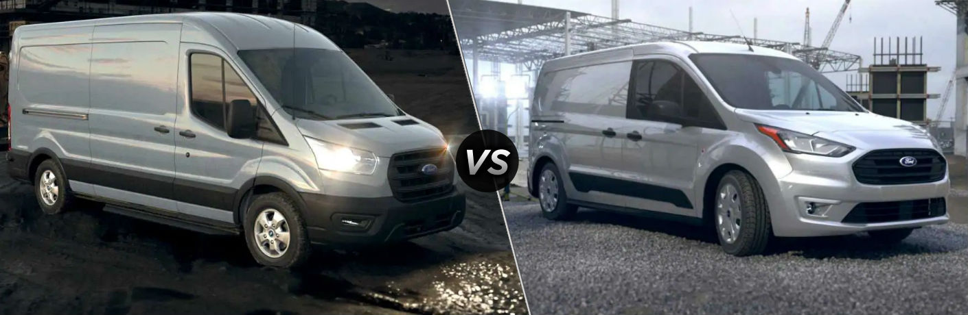 2020 Ford Transit vs 2020 Ford Transit Connect