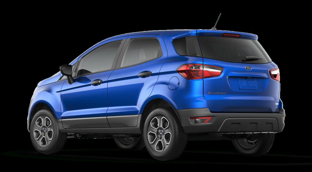 2020 Ford EcoSport S profile