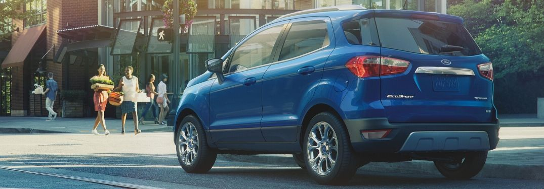 2020 Ford EcoSport on city street