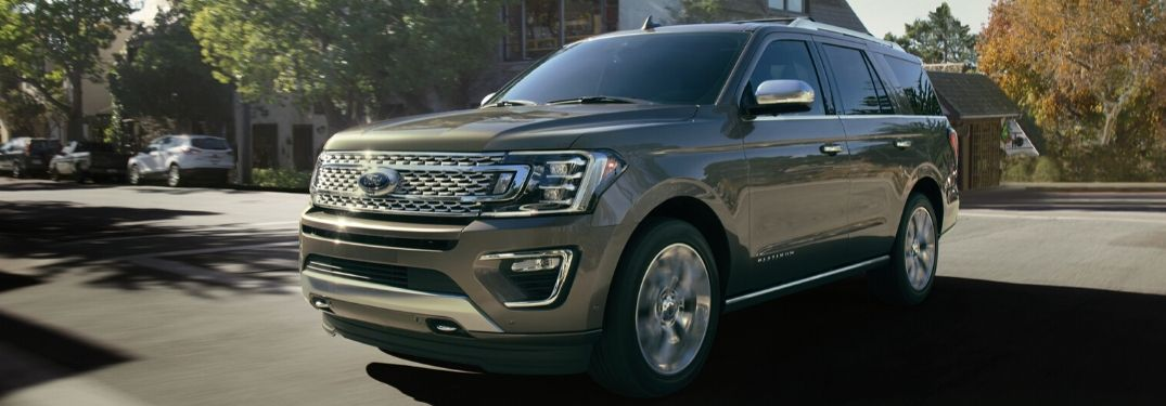 What Are the Trim Levels of the 2020 Ford Expedition?