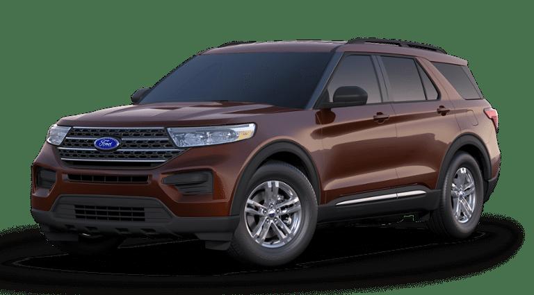 2020 Ford Explorer XLT profile