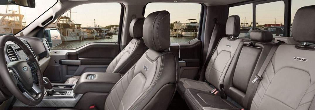 What Are the Interior Trim Options of the 2020 Ford F-150?