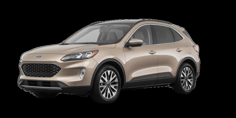 2020 Ford Escape Hybrid profile