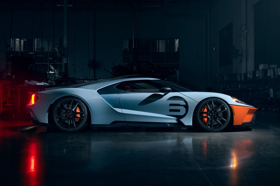 2020 Ford GT Gulf Racing Heritage Livery