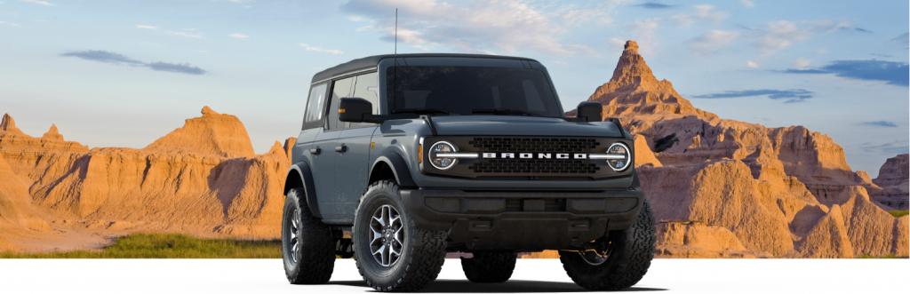 2021 Ford Bronco four-door
