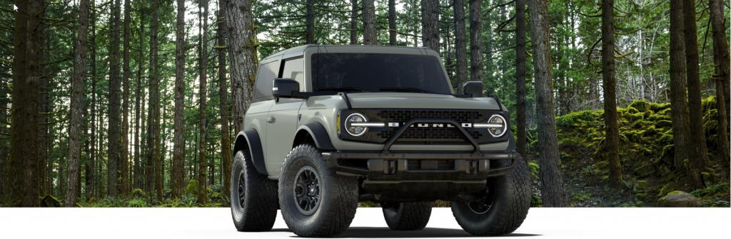 2021 Ford Bronco two-door