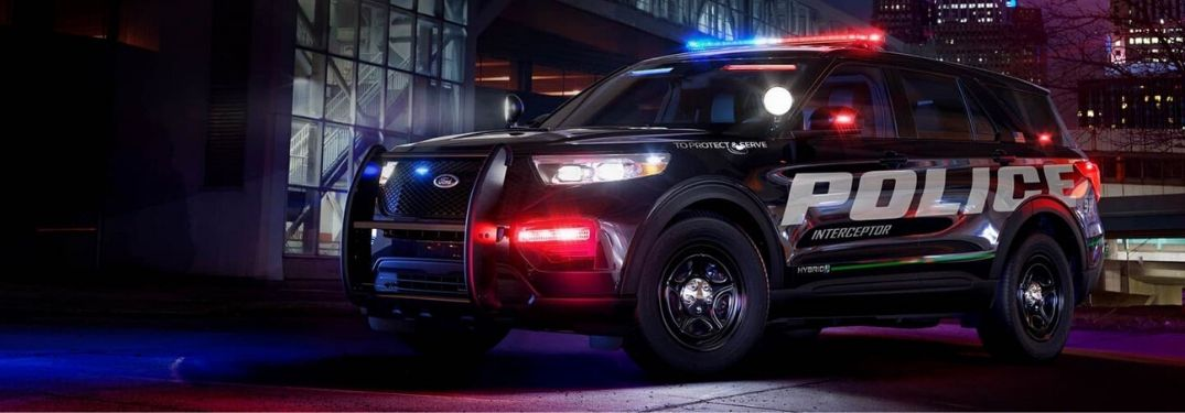 All-New 2020 Ford® Police Interceptor Utility Hybrid SUV