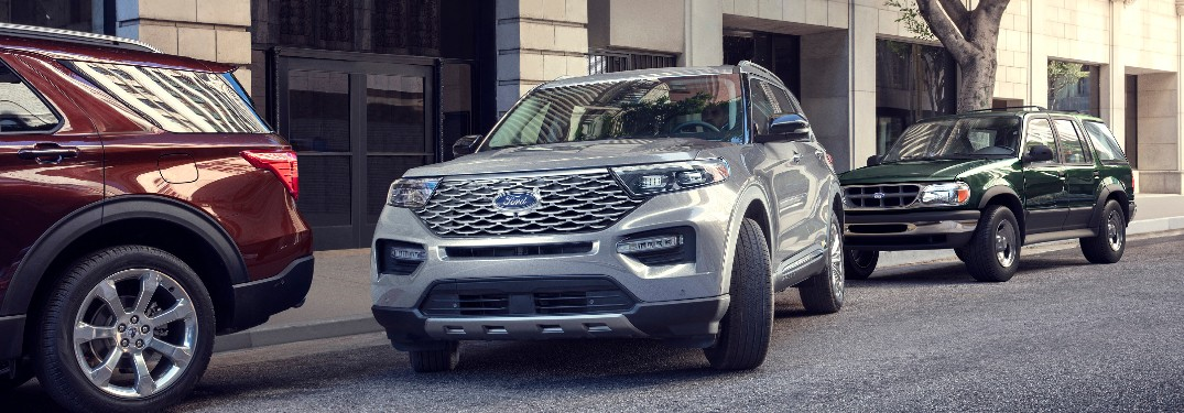 2020 Ford Explorer Active Park Assist 2.0