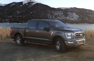 2021 Ford F-150 in color Carbonized Gray Metallic