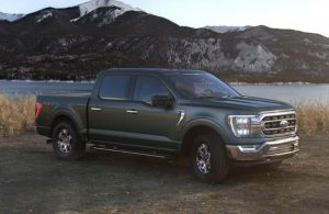 2021 Ford F-150 in color Guard Metallic