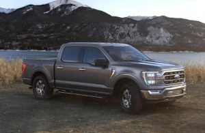 2021 Ford F-150 in color Iconic Silver Metallic