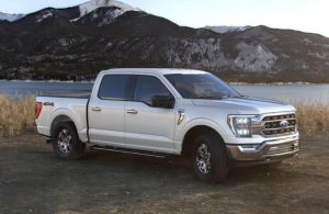 2021 Ford F-150 in color Space White Pear