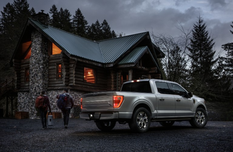 2021 Ford F-150 by forest cabin