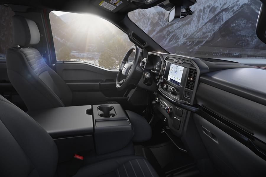2021 Ford F-150 STX interior