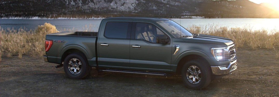 2021 Ford F-150 by scenic landscape