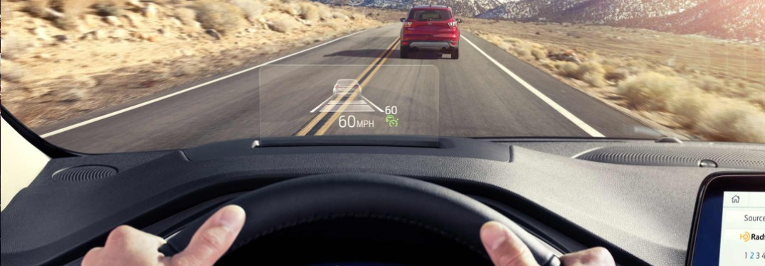 Ford Head Up Display in the 2020 Ford Escape