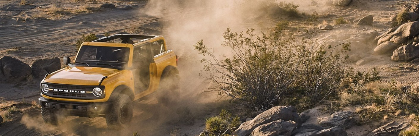 2021 Ford Bronco 2-Door in desert
