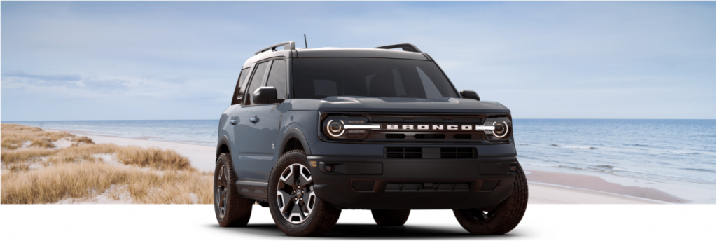 2021 Ford Bronco Sport Outer Banks trim level comparison