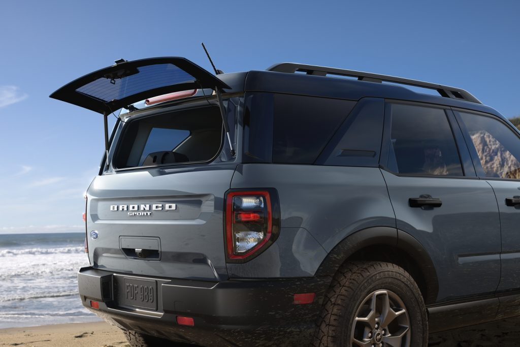 2021 Ford Bronco Sport liftgate glass