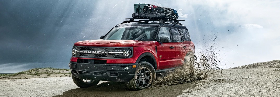 2021 Ford Bronco Sport in desert