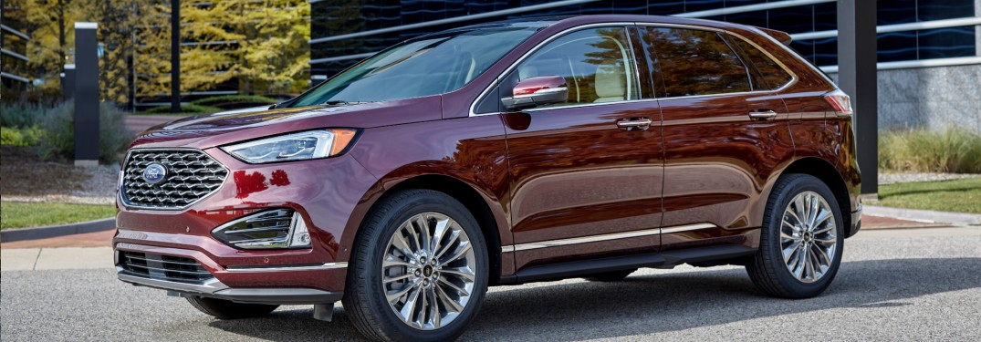 2021 Ford Edge in parking lot