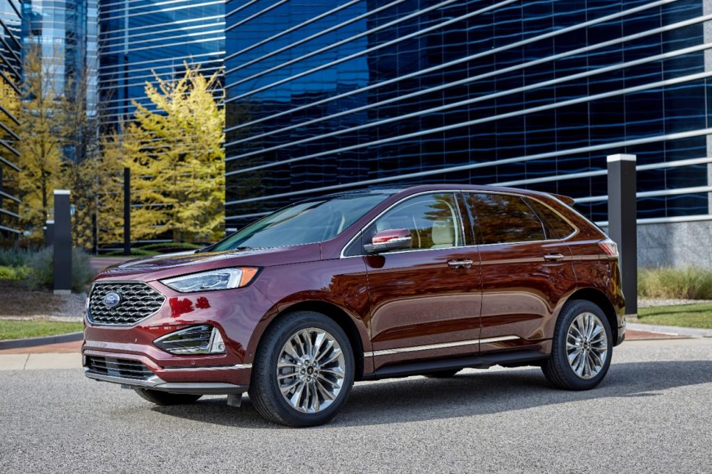 2021 Ford Edge exterior styling
