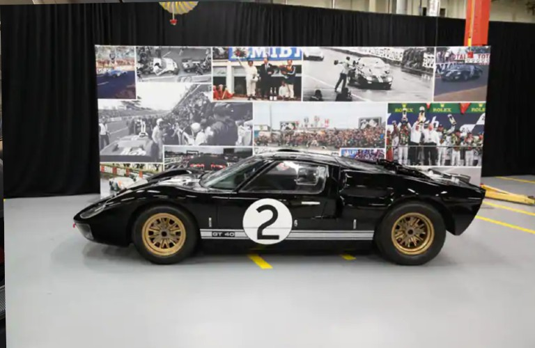Ford GT40 in showroom
