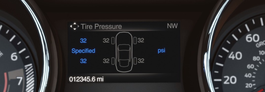 Ford Tire Pressure Monitoring System Display