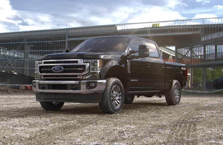 2021 Ford Super Duty in Agate Black