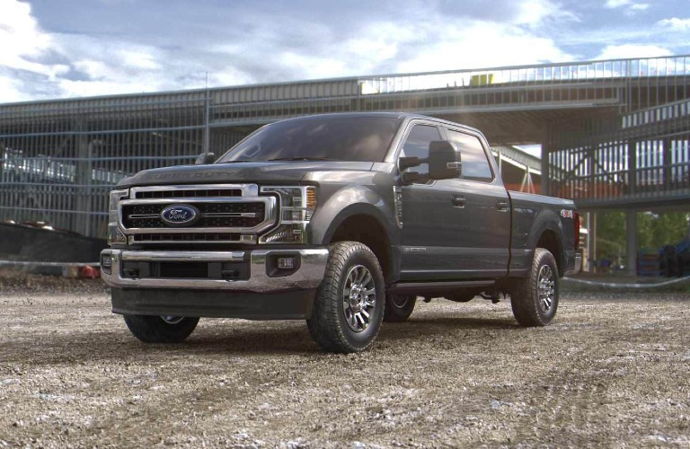 2021 Ford Super Duty in new Carbonized Gray color