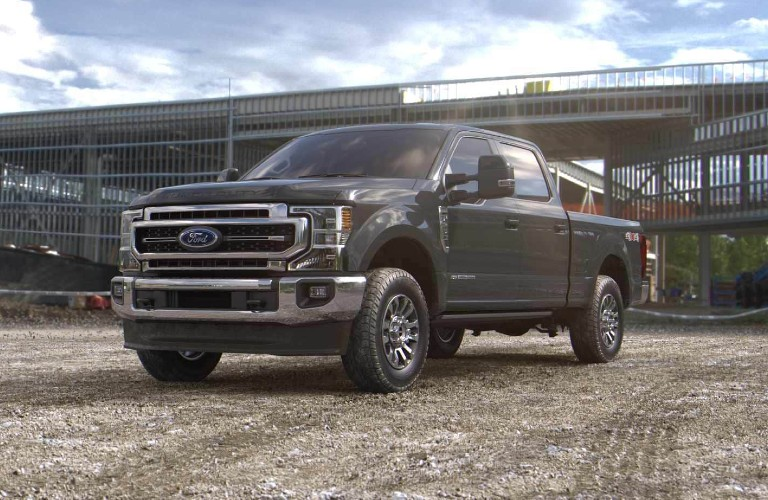 2021 Ford Super Duty in new Lithium Gray color