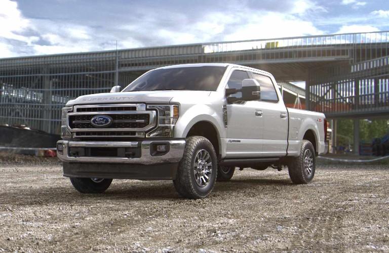 2021 Ford Super Duty in Star White Metallic